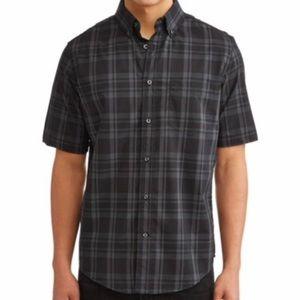 George Short Sleeve Plaid Shirt